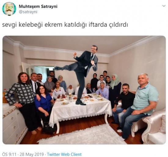 Ekrem İmamoğlu oruçlu vatandaşı evinde tekmeledi
