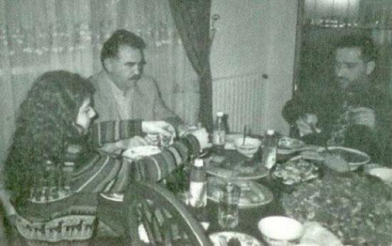 Fatih Altaylı - Abdullah Öcalan yemek fotoğrafı